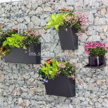Welded Wire Mesh Rock Gabion Basket Wall