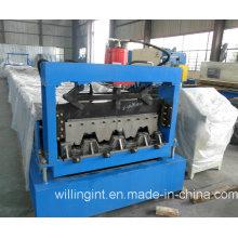 Máquina Formadora de Rolos de Piso em Aço Inoxidável para Edifícios Ce