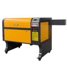 coconut shell laser cutting and engraving machine 4060 with rotary