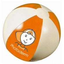 Ballon de plage gonflable, balles gonflables de plage de PVC pour la publicité