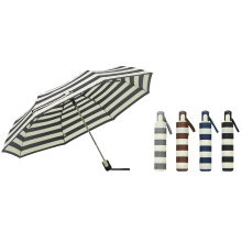 Cheap Auto Open 3 Fold Promotion Colorful Umbrellas