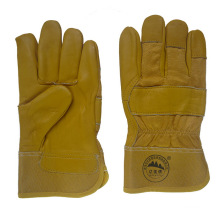 Cow Grain Leather Gloves for Driving