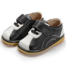Black White Hook & Loop Baby Kleinkind Schuhe Boy