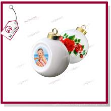 Керамические Рождество безделушка с сублимационной печати фото