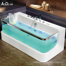 Aokeliya body massager air bubble bath tub and whirlpool massage bathtubs