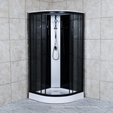 2021 Black Color Shower Room with Shower Panel