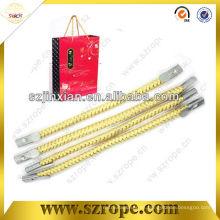 cuerda con punta de lengüeta de metal para mango de bolsa