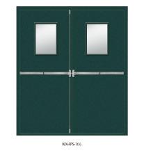 Высококачественная противопожарная дверь (WX-FPS-106)
