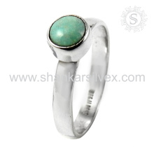 Scrumptious turquesa joyas de plata anillo de plata al por mayor 925 joyería de plata esterlina joyas de plata en línea hecho a mano