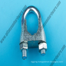 DIN741 Commercial Wire Rope Grips Clips Without Grooves
