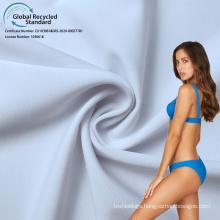 Jdttex tricot knit 14 spandex 86 recycled polyester swimwear bikini  fabric