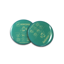Etiqueta engomada personalizada del teléfono de la etiqueta engomada ntag213 del chip nfc