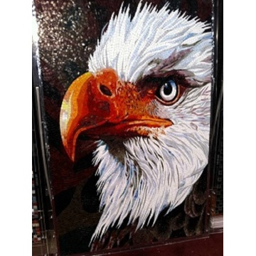 Custom Handmade Glass Mosaic Art Mosaic Animal Mural