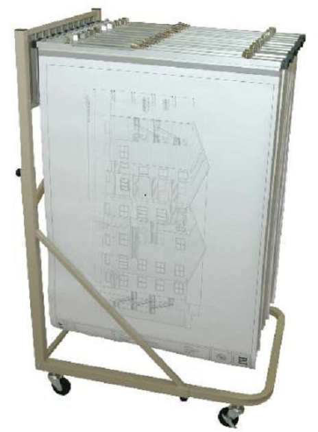 Telescopic Blueprint Racks