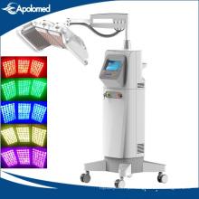 Ce médico antienvelhecimento do dispositivo claro da beleza da terapia do diodo emissor de luz da máquina da beleza de PDT