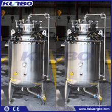 KUNBO Edelstahl Single Layer Micro Bright Tank für Bier