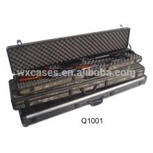 military aluminum gun case with foam inside from China factory high quality