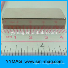 Imán de neodimio rectangular N52