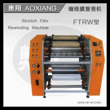 Machine de refente et de rembobinage de film étirable semi-automatique RW-2000