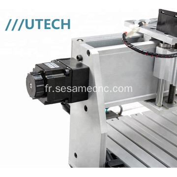 Bureau Mini CNC Rounter 3040 4 axes