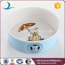 Venta al por mayor de accesorios para mascotas Ceramic Dog Bowl