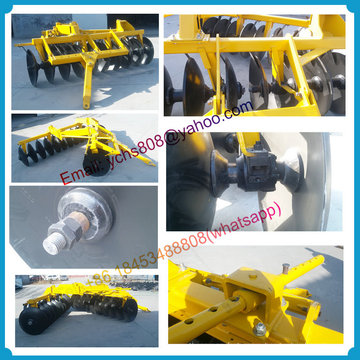 Дисковая борона с высоким качеством устанавливаемая на трактор тя
