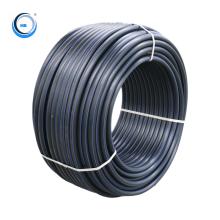 Pe100 Hdpe Pipe Polyethylene  Pn10 Pn 16 Black Drainage Irrigation Water Plastic Pipe Price List