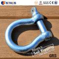 ISO9001 European Type Professional Large Bow Shackle