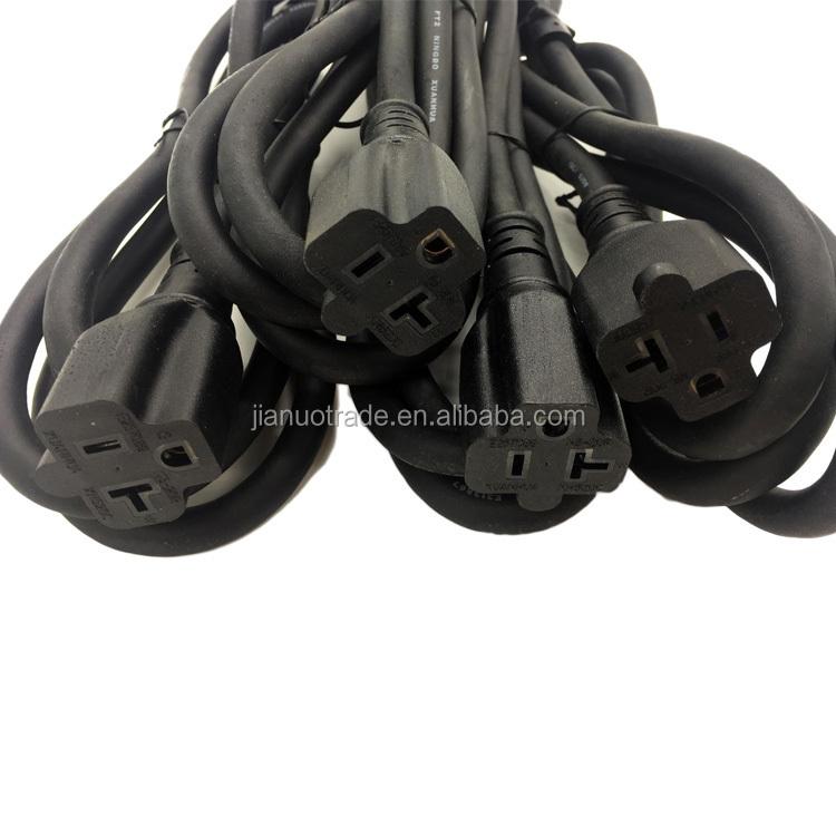 NEMA 5-20P to NEMA 5-20R 100 foot extension cord