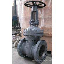 Válvula de porta da flange do Wcb do aço carbono do molde do ANSI 150lb 300lb