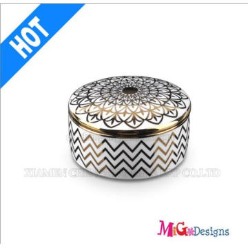 Hot Selling Colorful Ceramic Jewelry Box