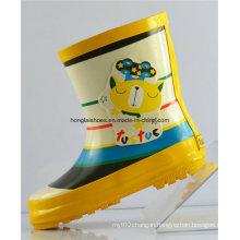 Children Non-Slip Rubber Rain Boots 11