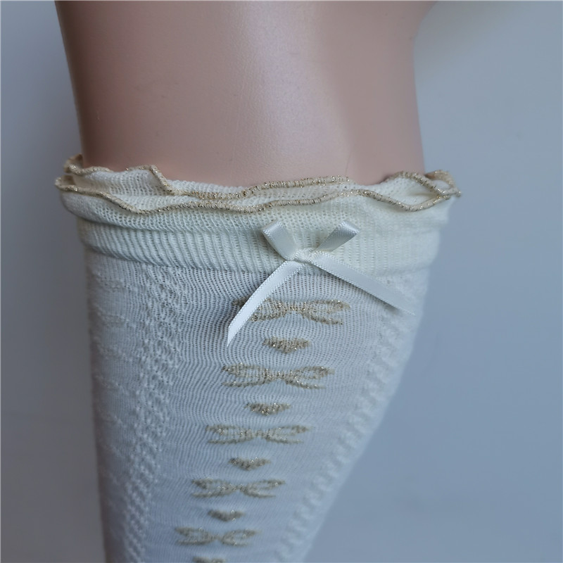 Lace Knee Highs Socks