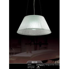 Simple Design Modern White Lamp Shade Pendant Lamp (P8010-1)