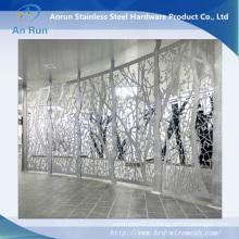 Feuille d'acier découpée au laser pour décoration extérieure