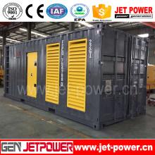 600kw 750kVA CUMMINS Behälter stiller Dieselgenerator