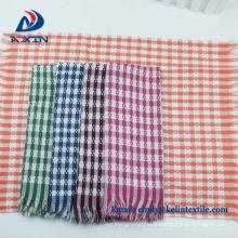 new products 2018 cotton waffle jacquard custom dishtowels