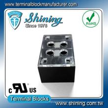 TB-31502CP 2 polos 300V 15A Conector de bloque de terminales de dos filas