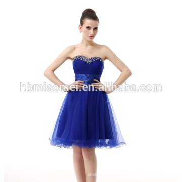 Compras online mulheres partido desgaste saia curta vestido de noite azul royal nupcial elegante vestido de noite coreano