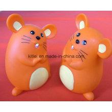 ICTI мини ПВХ Рождественский подарок Lovely Custom Пластиковые игрушки мыши