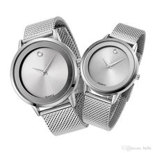 Battery With Stainless Steel Bracelet Watch