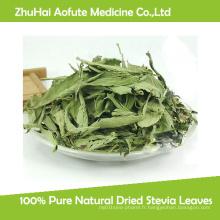 Feuilles de stévia séchées naturelles à 100%