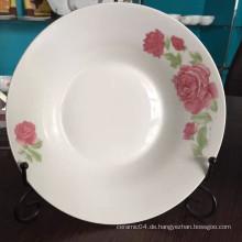 Rundes Keramik Suppenteller, billige Porzellanteller, Suppenschüssel