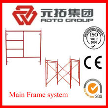 Pregalavnized H frame scaffolding 1219*1930