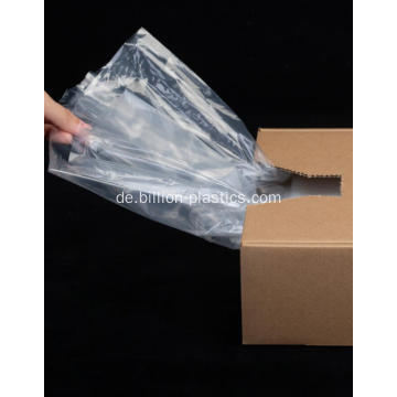 LDPE Clear Flat Bag Mit Zwickel