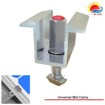 T5-6000 Serie eloxierten Aluminium Universal Mitte Klemme mit Solar Montagesystem (300-0001)