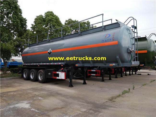 34000L Glacial Acetic Acid Tank Trailers