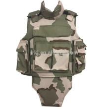 nível IIIA / III / IV militar tático armadura completa à prova de balas colete