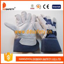 Rubberized Leahter Gloves Dlc216