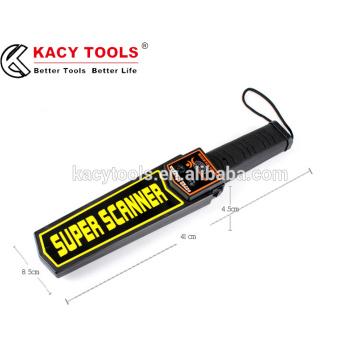 Сверхчувствительный ручной детектор металлоискателя высокой чувствительности